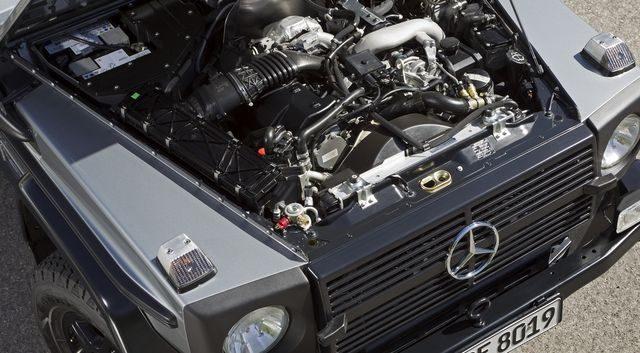 Двигатель G-Class