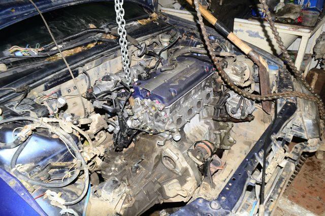 Ремонт двигателя H23A