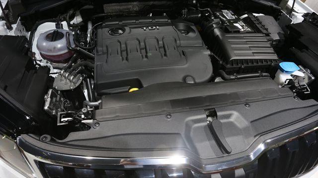 Мотор Skoda Kodiag