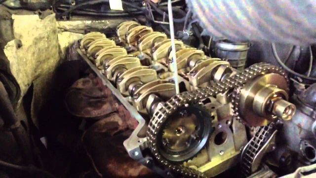 ТО двигателя M104 E32