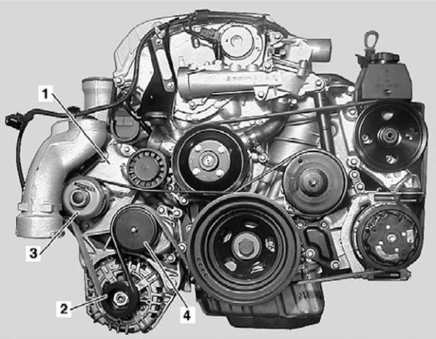 Мотор M111 E23