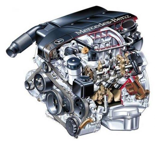 Технические характеристики двигателя M112 E26
