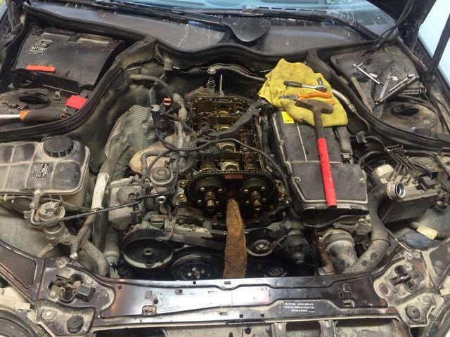 Ремонт мотора M271 E18
