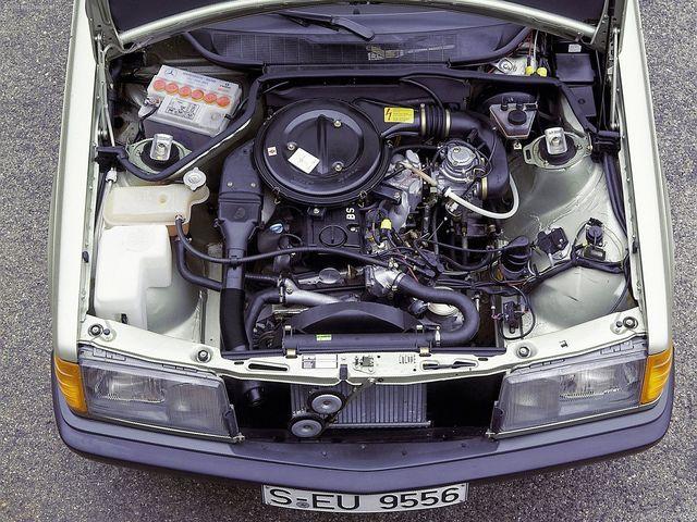 Силовой агрегат Mercedes-Benz 190 W201