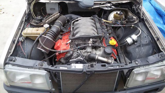 Двигатель Mercedes-Benz 190 W201