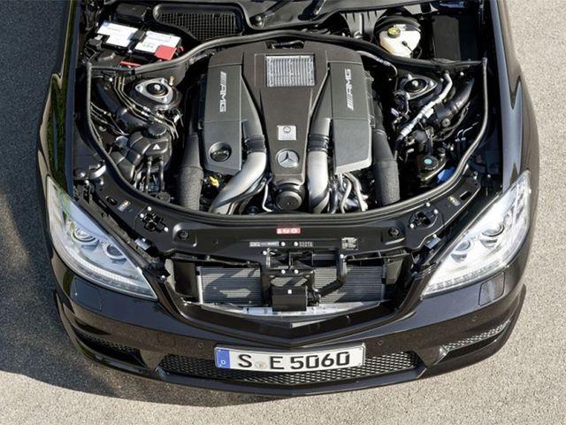 Мотор MERCEDES-BENZ S-Class