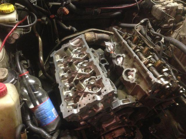 Ремонт мотора VQ30DE