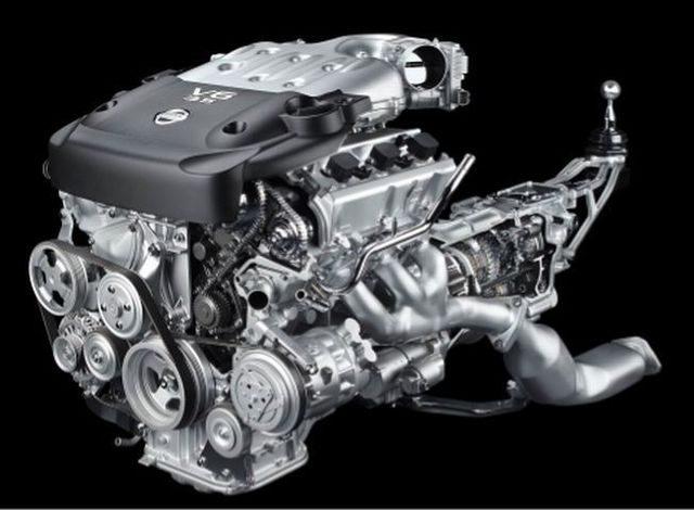 Мотор VQ35DE