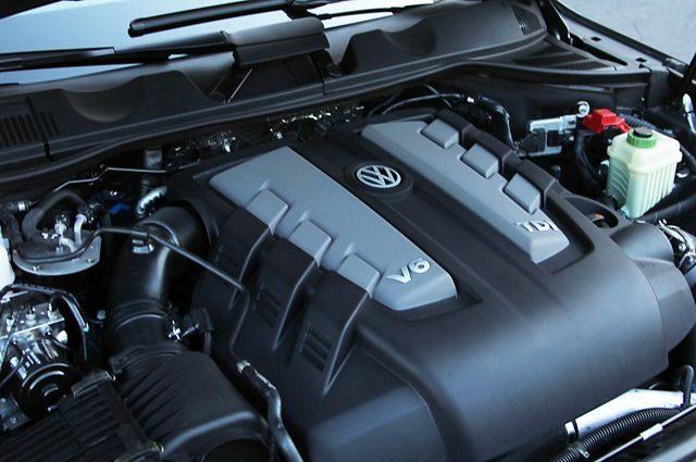 Мотор VW TOUAREG