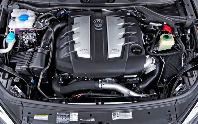Двигатель VW Tiguan TSi V8
