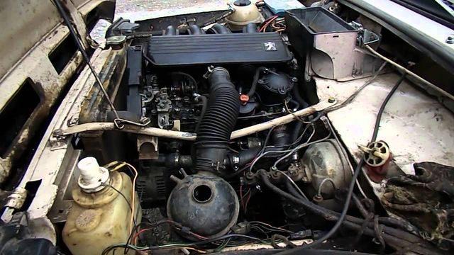 Двигатель XUD9SD