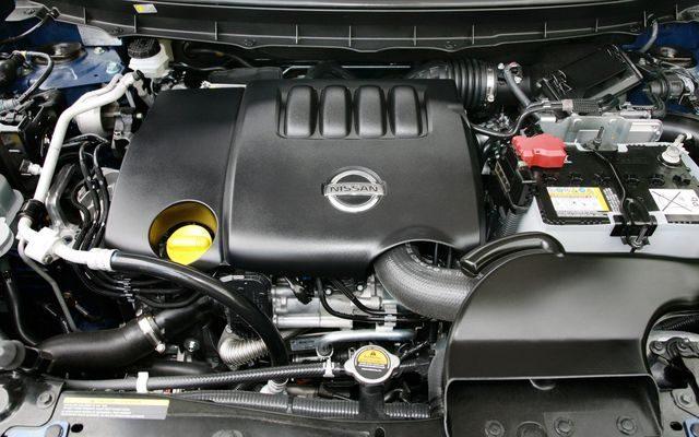 Мотор X-TRAIL
