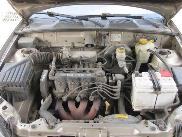 Мотор Ланос
