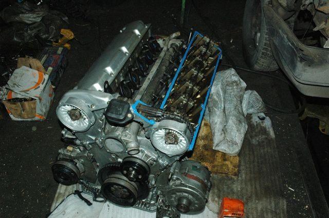 Мотор БМВ М73