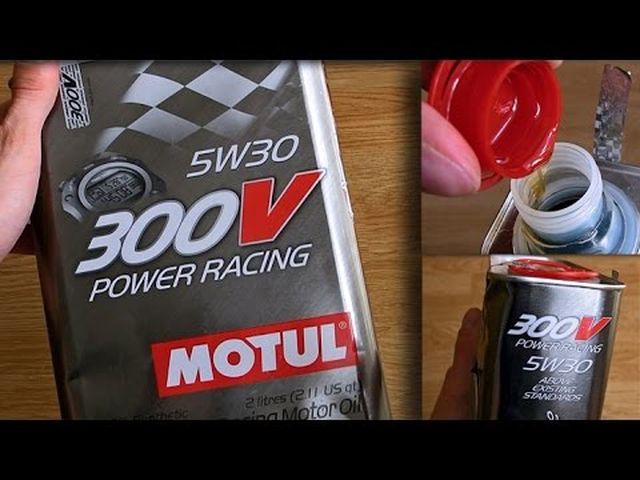 Вязкость Motul 300V POWER RACING 5W30