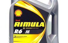 Масло Shell Rimula R6 M/LM 10W-40