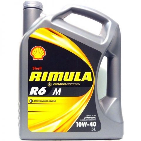 Масло Shell Rimula R6 M/LM 10W-40