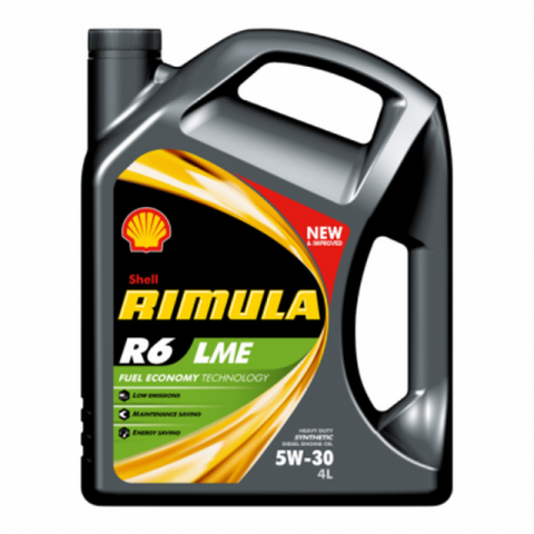 Shell Rimula R6 ME/LME 5W-30