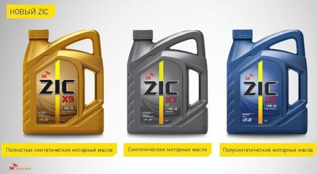 Моторные масла ZIK