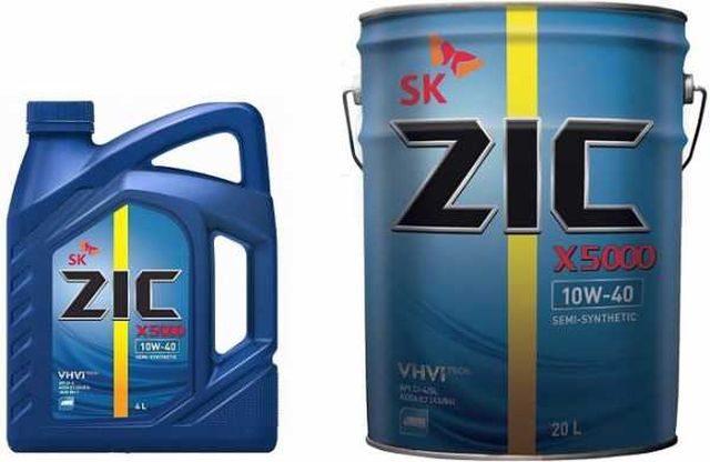 ZIC X5000 10W40