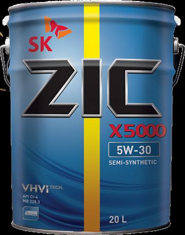 ZIC X5000 5W30