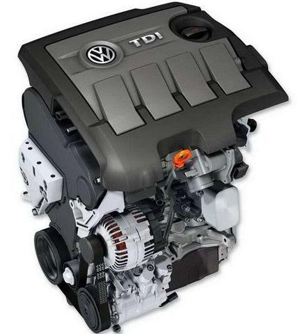 Двигатель 1.6 TDI (CAYC)