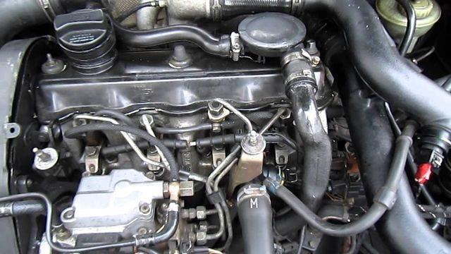 Мотор 1.9 TDI (AFN, 1Z, AAZ, AHU)
