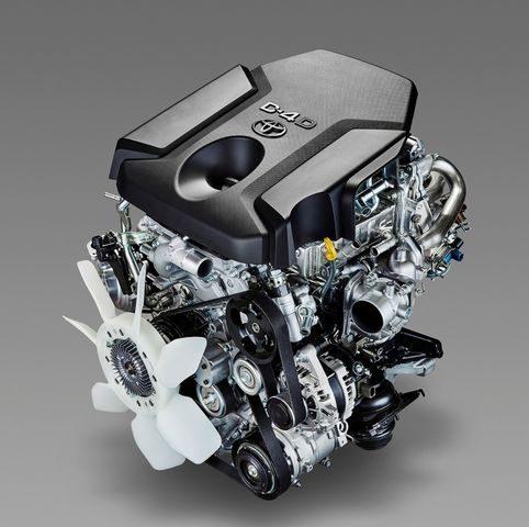 Мотор 1KD