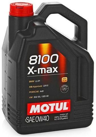 Motul 8100X-max0W-40