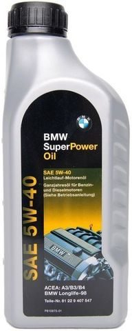 Масло BMW Super Power Oil 5W-40