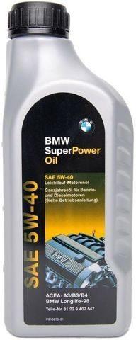 Масло BMW Super Power Oil 5W-40