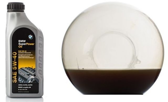 Масло после прожига BMW Super Power Oil 5W-40