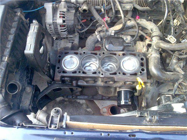 Восстановление двигателя C14NZ