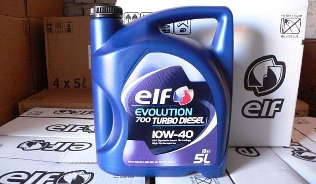 Моторное масло ELF TURBO DIESEL 10W-40
