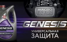 ЛУКОЙЛ GENESIS ADVANCED 10W-40