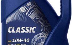 MANNOL Classic 10W40 тара 4 литра