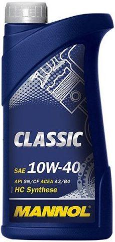 MANNOL Classic 10W40 тара 1 литр