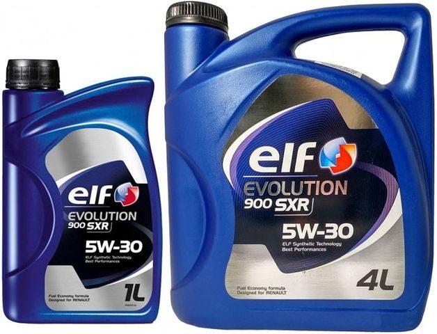 ELF EVOLUTION 900 SXR 5W-30 1 и 4 литра