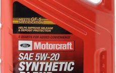 Ford Motorcraft 5W20 5 литров