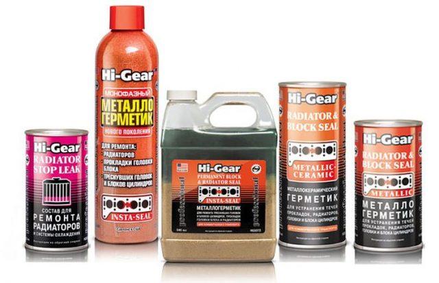Герметик для системы охлаждения Hi-Gear