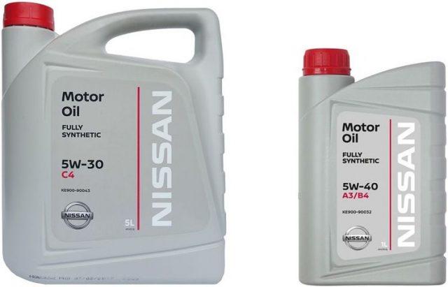NISSAN MOTOR OIL 5W30DPF 1 и 5 литров
