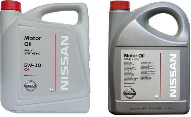 NISSAN MOTOR OIL 5W30DPF