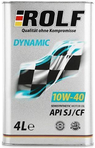 ROLF DYNAMIC 10W-40 4 литр