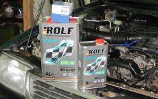 Моторное масло и фильтры.