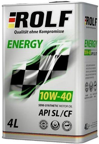 ROLF ENERGY 10W-40 SL/CF 4 литра