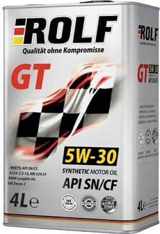 ROLF GT 5W30 SN/CF 4 л