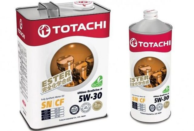TOTACHI Ultima Ecodrive F 5W30