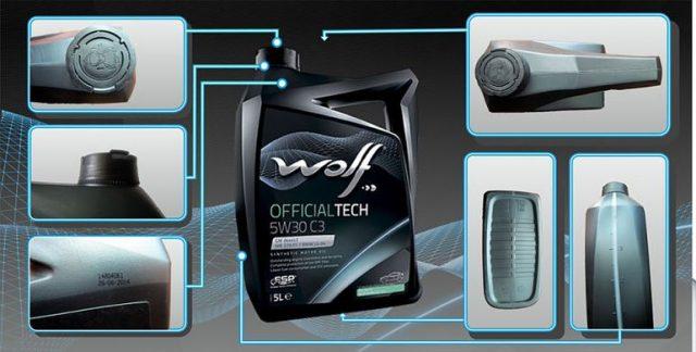 Отличие подделки моторного масла WOLF VITALTECH 5W40