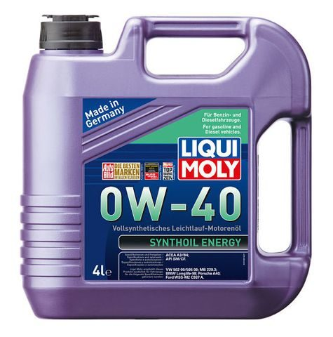 Масло LIQUI MOLY Synthoil Energy 0W40