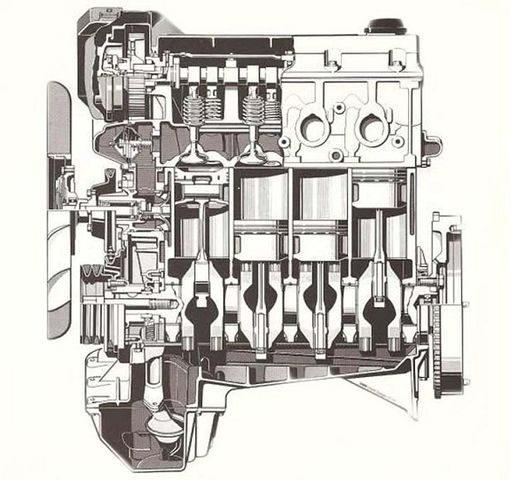Двигатель BMW M40B16